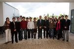 Presidente com jovens distinguidos
