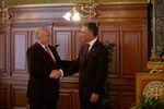 Burgomestre de Viena com o Presidente