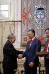 Presidente Cavaco Silva recebeu Medalha de Ouro da Cidade de Santarém