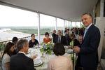 Presidente ofereceu almoço a personalidades que se distinguiram nas suas actividades profissionais.