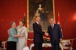 Recepção no Palácio Presidencial em Viena