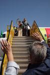 Despedidas no aeroporto de Salzburgo