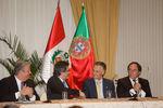 Encontro empresarial no Peru