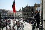 Presidente Cavaco Silva recebeu as Boas Vindas da cidade de Viana do Castelo