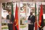 Conferência de Imprensa em Luanda