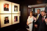 """Presidente inaugura exposição """"Fotógrafos e Fotografia - Retrato de Presidentes"""""""