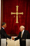 The Principality of Asturias welcomed the Portuguese President