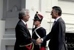 Encontro entre Cavaco Silva e Vasquéz