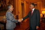 General Valença Pinto recebido pelo Presidente