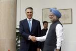 Presidente Cavaco Silva com Primeiro-Ministro Singh