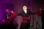 Katia Guerreiro cantou para convidados indianos