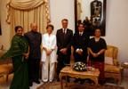 No Palácio do Governador de Goa