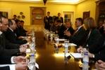 Representantes portugueses com Presidente