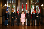 Presidentes reunidos em Riga