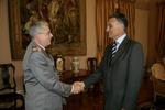 General Valença Pinto recebido em Belém
