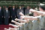 Cadetes da Academia receberam visita presidencial