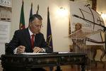 """Presidente participou no projecto """"Lusíadas manuscrito"""""""