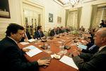 Conselho de Estado reunido em Belém