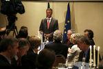 Jantar com eurodeputados em Estrasburgo