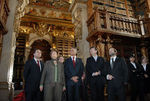 Presidente visita a Biblioteca Joanina