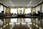 Sessão na Reitoria da Universidade de León