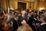 Portugueses do Brasil saúdam o Presidente