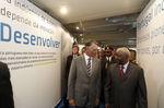 Inauguração de exposição em Maputo