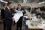 Visita a fábrica de confecções