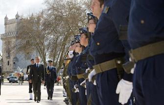 Cerimónia de Homenagem aos Combatentes, por ocasião do 50º aniversário do início da Guerra em África