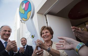 Inauguração do Centro de Acolhimento Temporário para Crianças Refugiadas, Casa Caçula