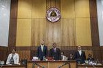 Presidente no Parlamento timorense
