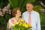 Flor batizada em Singapura
