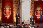 Içar da Bandeira Nacional e Sessão de Boas-Vindas da Câmara Municipal de Lisboa