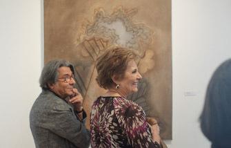 Inauguração de exposição de Manuel Baptista