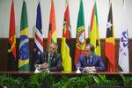 Conferência de imprensa em Maputo