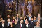 Líderes ibero-americanos reunidos em Cádis