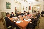 Reunião do Conselho no Palácio de Belém