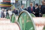 Presidente Cavaco Silva visitou COFICAB e inaugurou Centro de Inovação Tecnológica