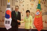 Reunião com Presidente Park Geun-hye