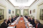 Reunião no Palácio de Belém