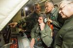 A bordo da aeronave P-3C