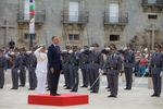 Içar da Bandeira Nacional no início das Comemorações do Dia de Portugal