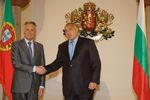 Encontro com Boyko Borisov