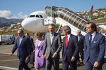 President welcomed in Funchal