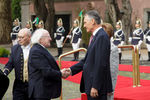 Michael D. Higgins recebido em Belém