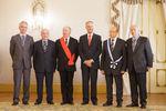Cerimónia no Palácio de Belém