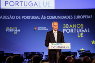 30.º aniversário da adesão de Portugal às Comunidades Europeias