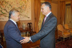 Roberto Carneiro received by the President