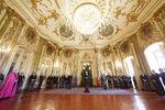 Cerimónia no Palácio de Queluz