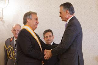 Cerimónia de agraciamento do Eng. António Guterres